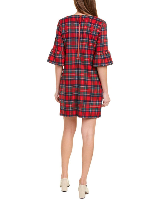 Vineyard Vines Greenwich Plaid Shift Dress