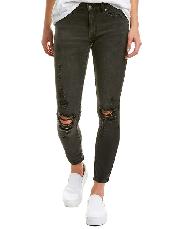 Ksubi Spray On Jack Deconstruct Skinny Ankle Cut