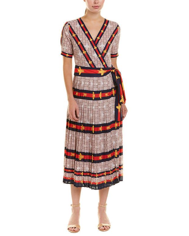 Nisha Outi Wrap Dress