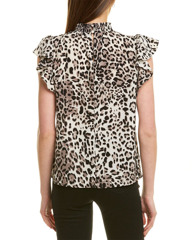 1.State Mock Neck Blouse