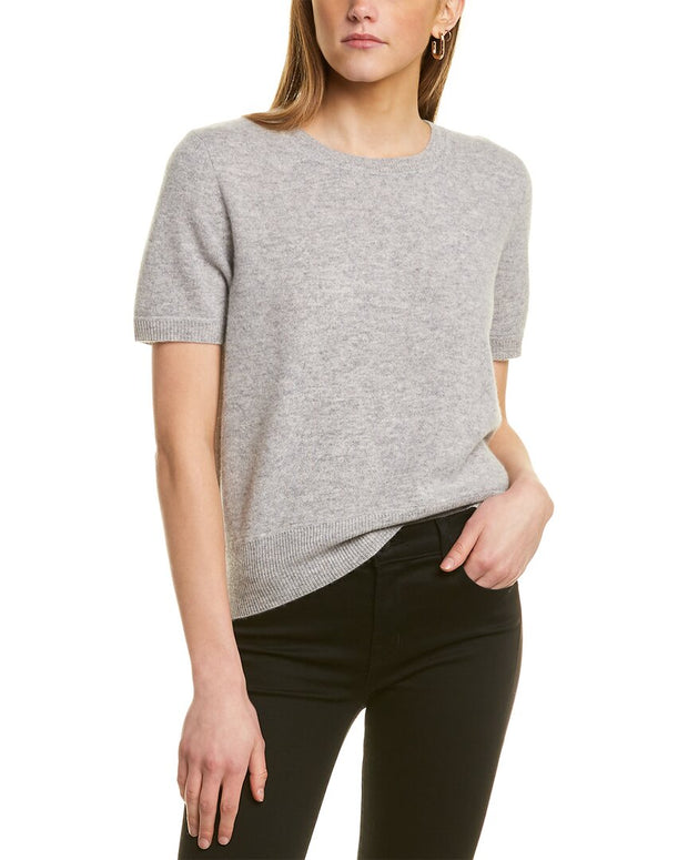 Naadam Cashmere Cropped Cashmere Pullover