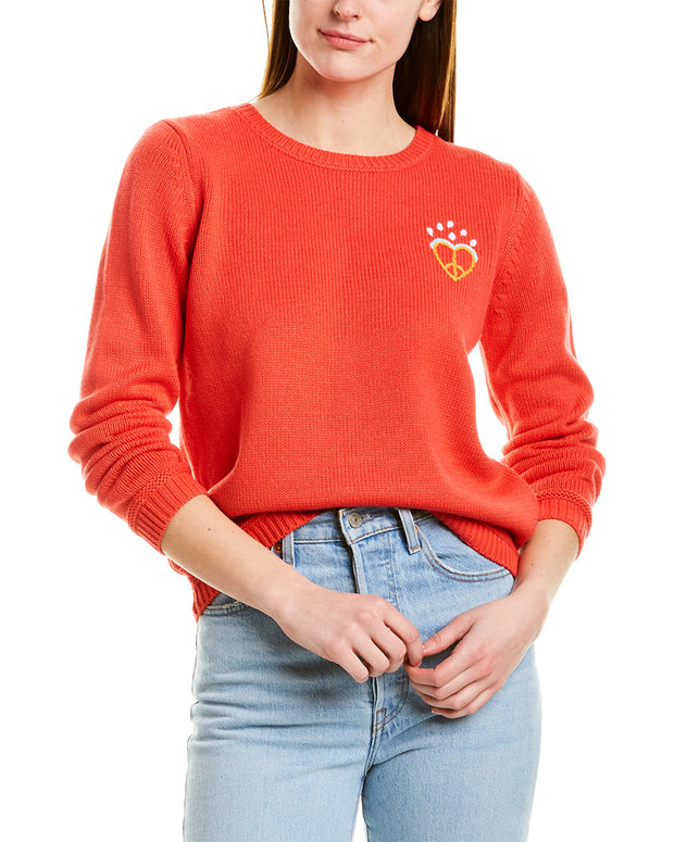 525 America Embroidered Pullover