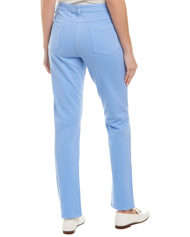 J.Mclaughlin Lexi Vista Blue Straight Leg Jean
