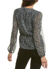 The Kooples Leopard Rain Top