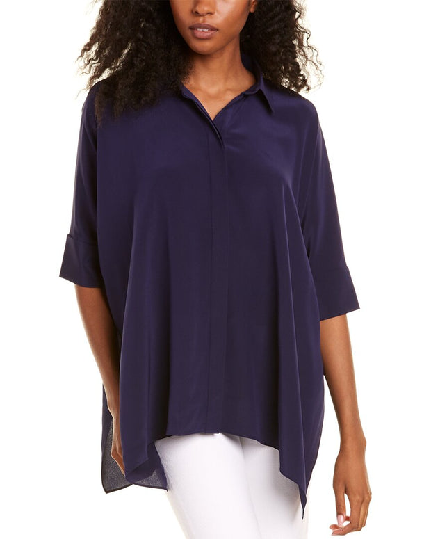 Trina Turk Barbados Silk Top