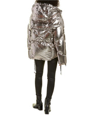 Khrisjoy Khris Metallic Puffer Down Jacket