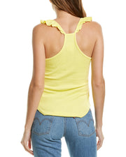 Chaser Ruffle Racerback Tank