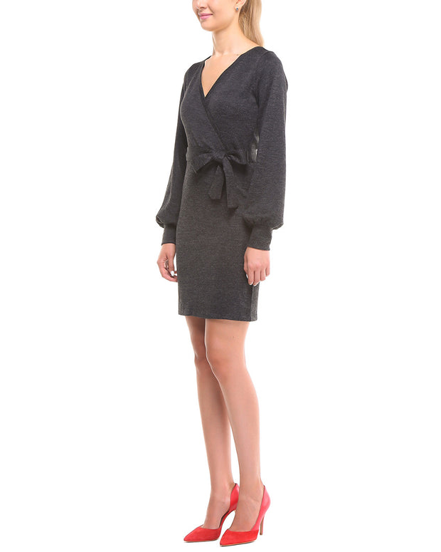 Laura Bettini Wool-Blend Dress