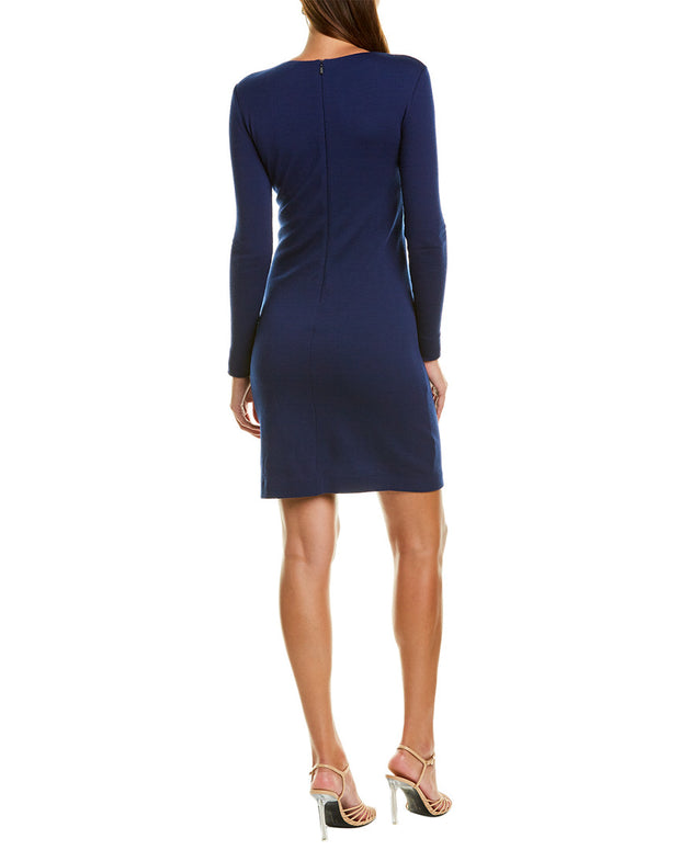 Max Mara Colimbo Wool Sheath Dress