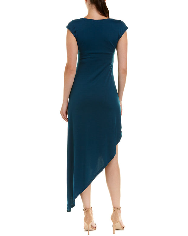 Susana Monaco Asymmetric Midi Dress