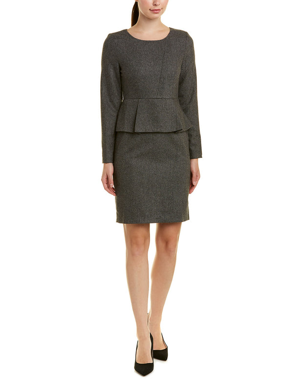 Vogue Va Wool-Blend Sheath Dress