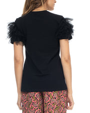 Tantra Tulle Flounce Top