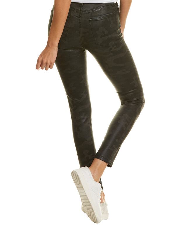 Joes Jeans The Charlie Coated Laser Camo Ankle Cut Jean