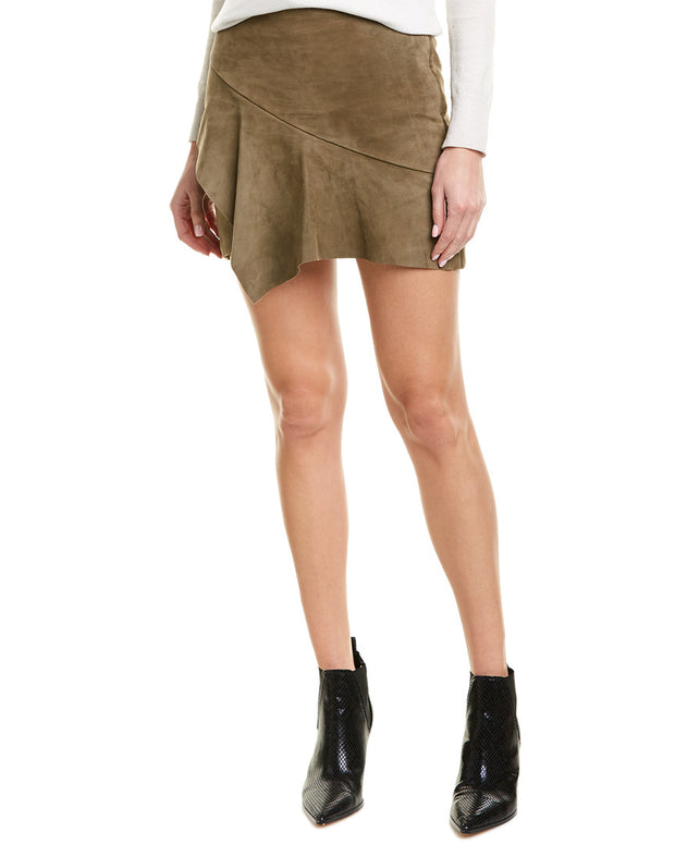 Ba&Sh Mala Suede Skirt