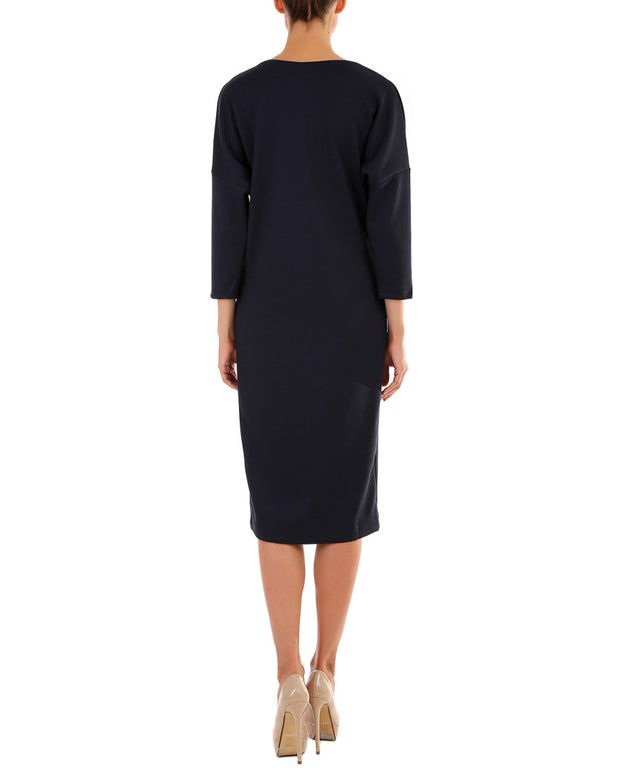 Andrea Crocetta Wool-Blend Dress