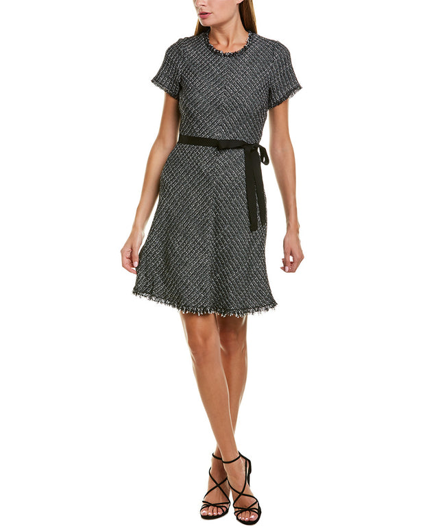 Rebecca Taylor Tweed Sweaterdress