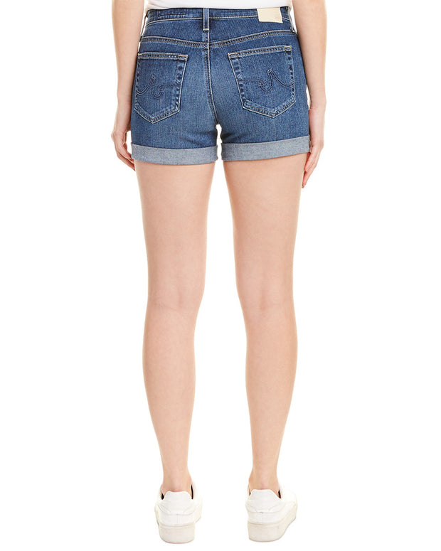 Ag Jeans The Hailey 18 Years Indigo City Ex-Boyfriend Roll-Up Short