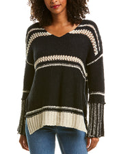 Elan Crocheted Sweater