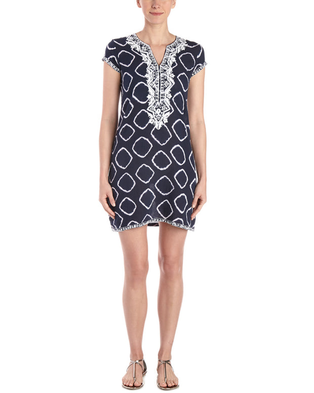 Sulu Collection Alex Hand-Embroidered Dress