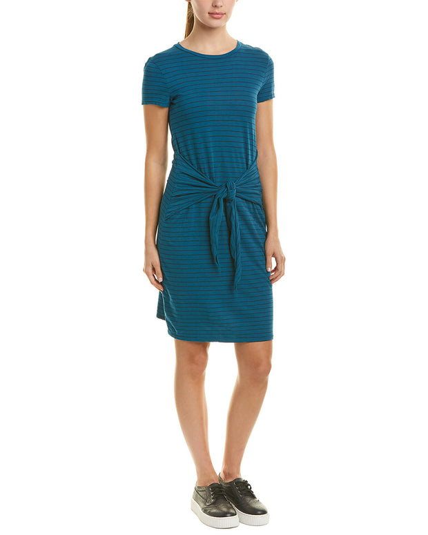 Three Dots Big Sur Stripe Shift Dress
