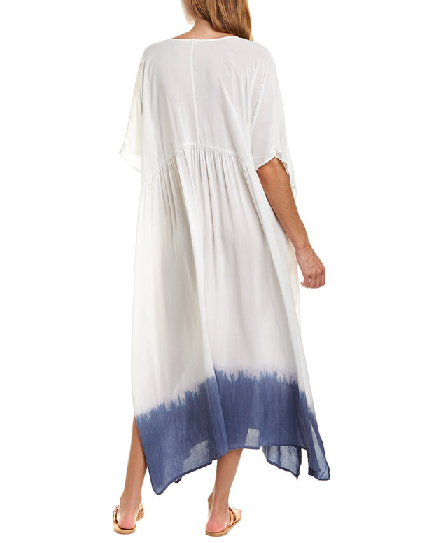 Yfb Clothing Tie-Front Caftan Dress