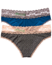 Honeydew Intimates 2Pk Ahna Lace Hipster