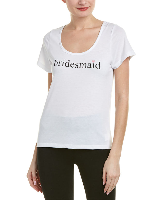 Sleepin By Bedhead Pajamas Bridesmaid T-Shirt