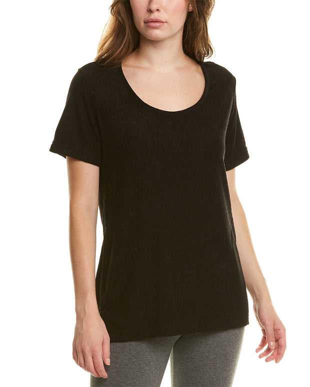 N Natori Terry Lounge Top