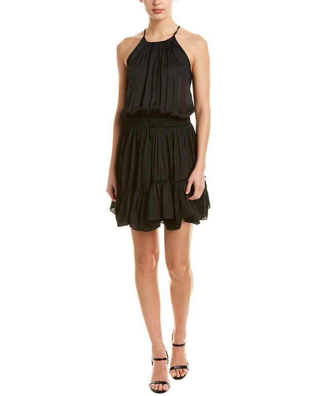Halston Heritage A-Line Dress