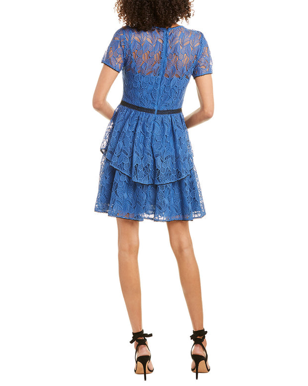 Ml Monique Lhuillier Mini Dress