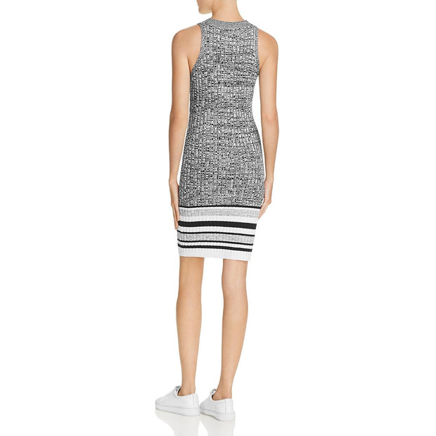 Splendid Womens Striped Sleeveless Sweaterdress