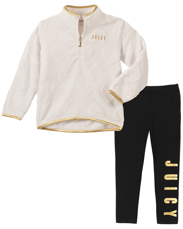 Juicy Couture 2Pc Microfleece Set