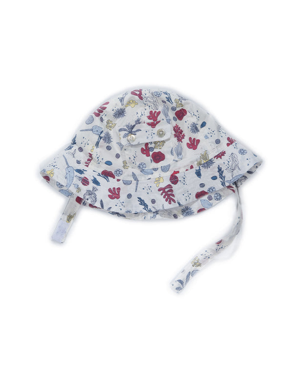 Egg Poppy Hat