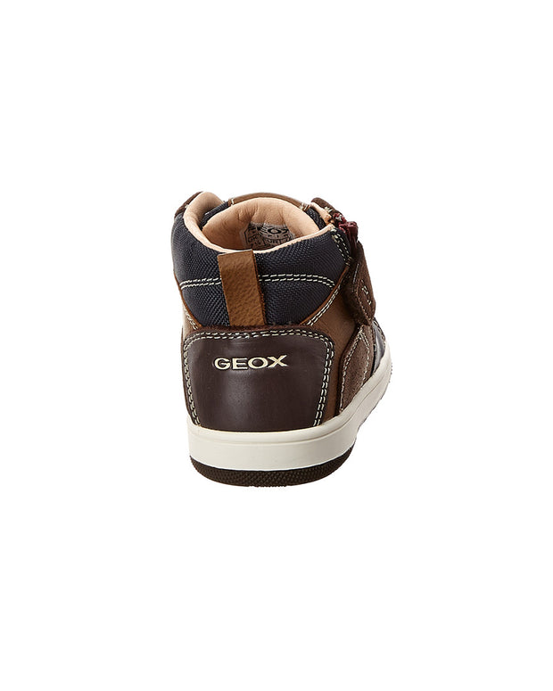 Geox New Flick Leather Sneaker