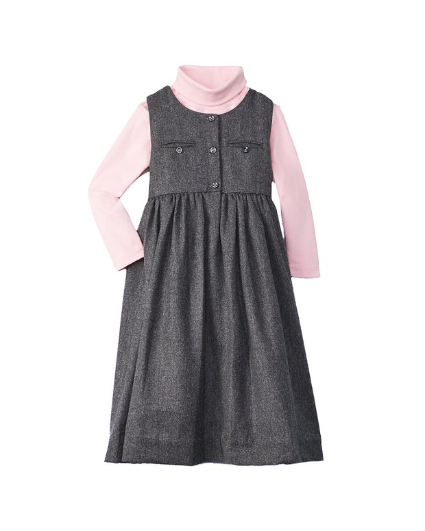 L'enfant Lune Amanda Wool-Blend Dress