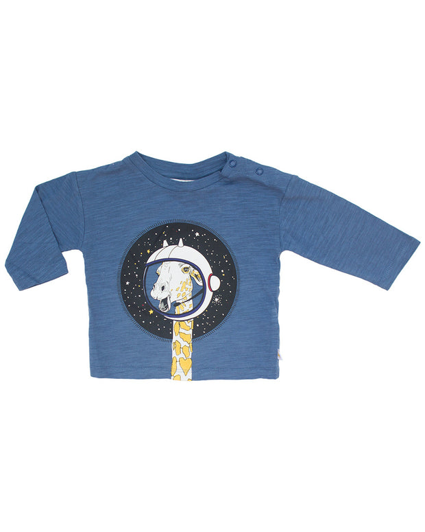Rosie Pope Giraffe In Space T-Shirt