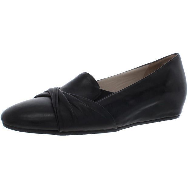 Valeria Womens Leather Slip On Loafers