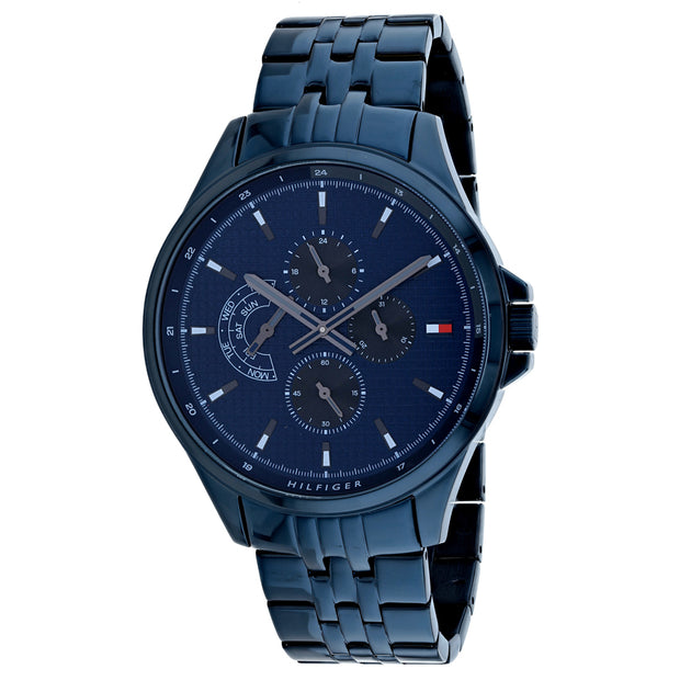 Tommy Hilfiger Men's Date Blue Dial Watch - 1791618