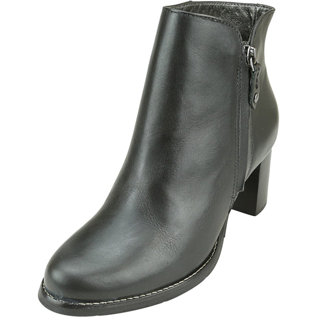 Marc Joseph New York Women's Grand Central Bootie High-Top Leather Boot