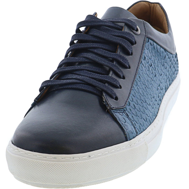 Brothers United Men's Arizona Ankle-High Leather Sneaker