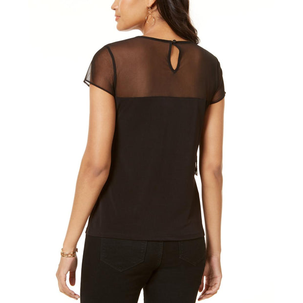 Womens U Sheer Top