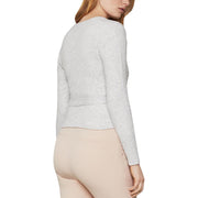 Womens Wrap Side Tie Sweater