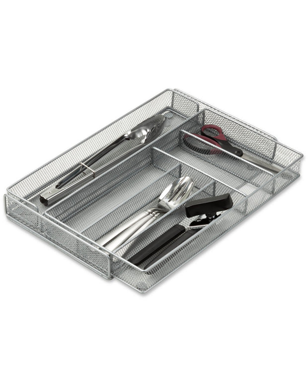 Honey-Can-Do 20.25In Expandable Cutlery Tray