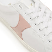 Celine Triomphe Low Lace Up Sneaker In Calfskin