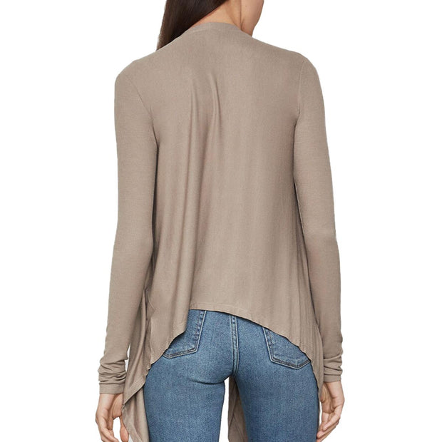 Angela Womens Open Front Wrap Cardigan Sweater
