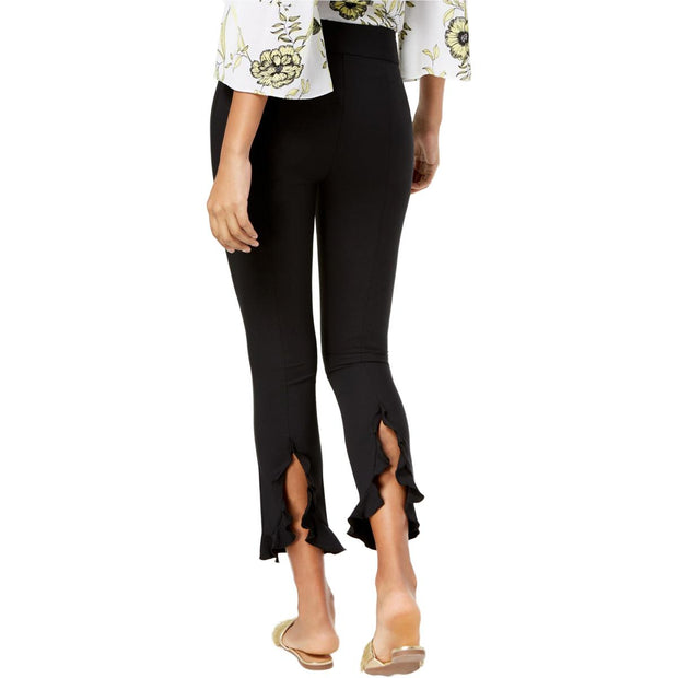 INC Womens Skinny Ruffled Ankle Pants