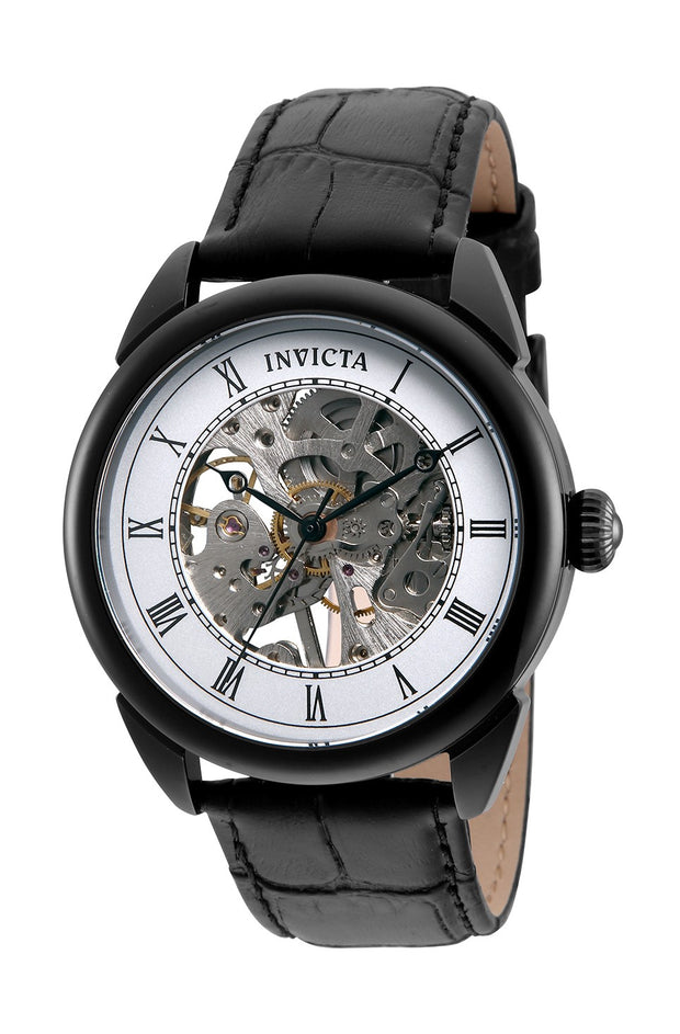 Invicta Men's Specialty 32633 42mm Black Dial Leather Watch
