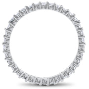 1ct Diamond Eternity Wedding Ring in 14k White, Yellow or Rose Gold