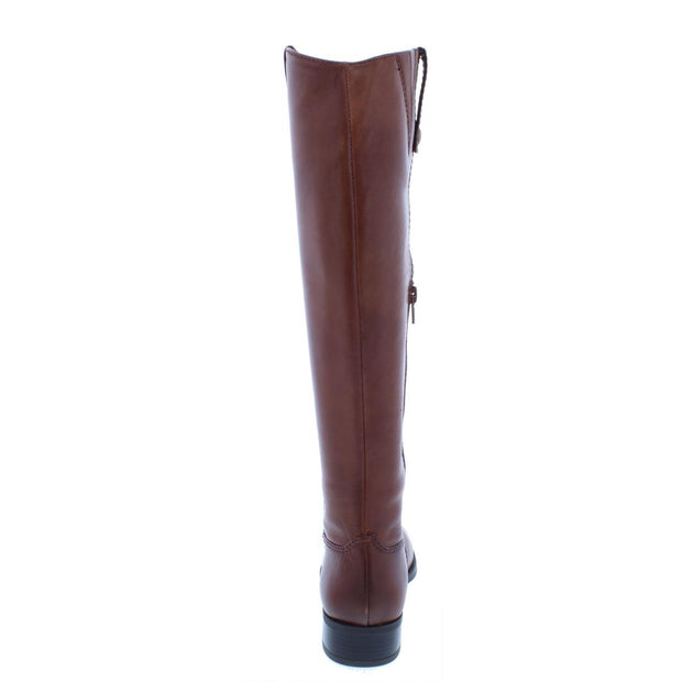 INC Womens Fawne Leather Knee-High Riding Boots