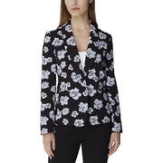 Womens One Button Office Blazer